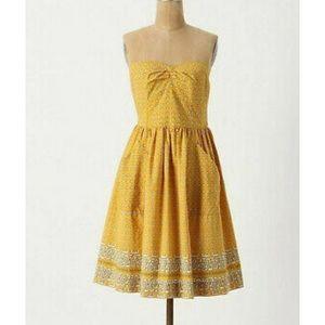 Anthropologie Girls from Savoy Bandana dress sz 10